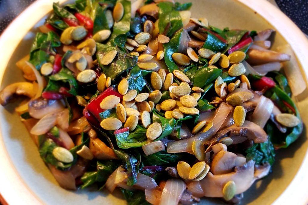 Healthy Breakfast Greens Recipe
