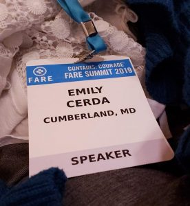 speaker credentials for conference
